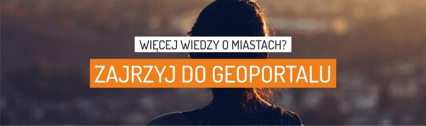 Geoportal OPM IRM z mapami o polskich miastach