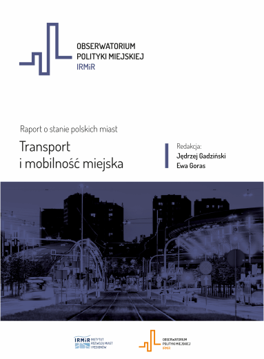 okładka-raport o stanie polskich miast-transport i mobilność