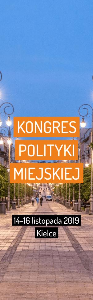 kongres polityki miejskiej 2019 Kielce