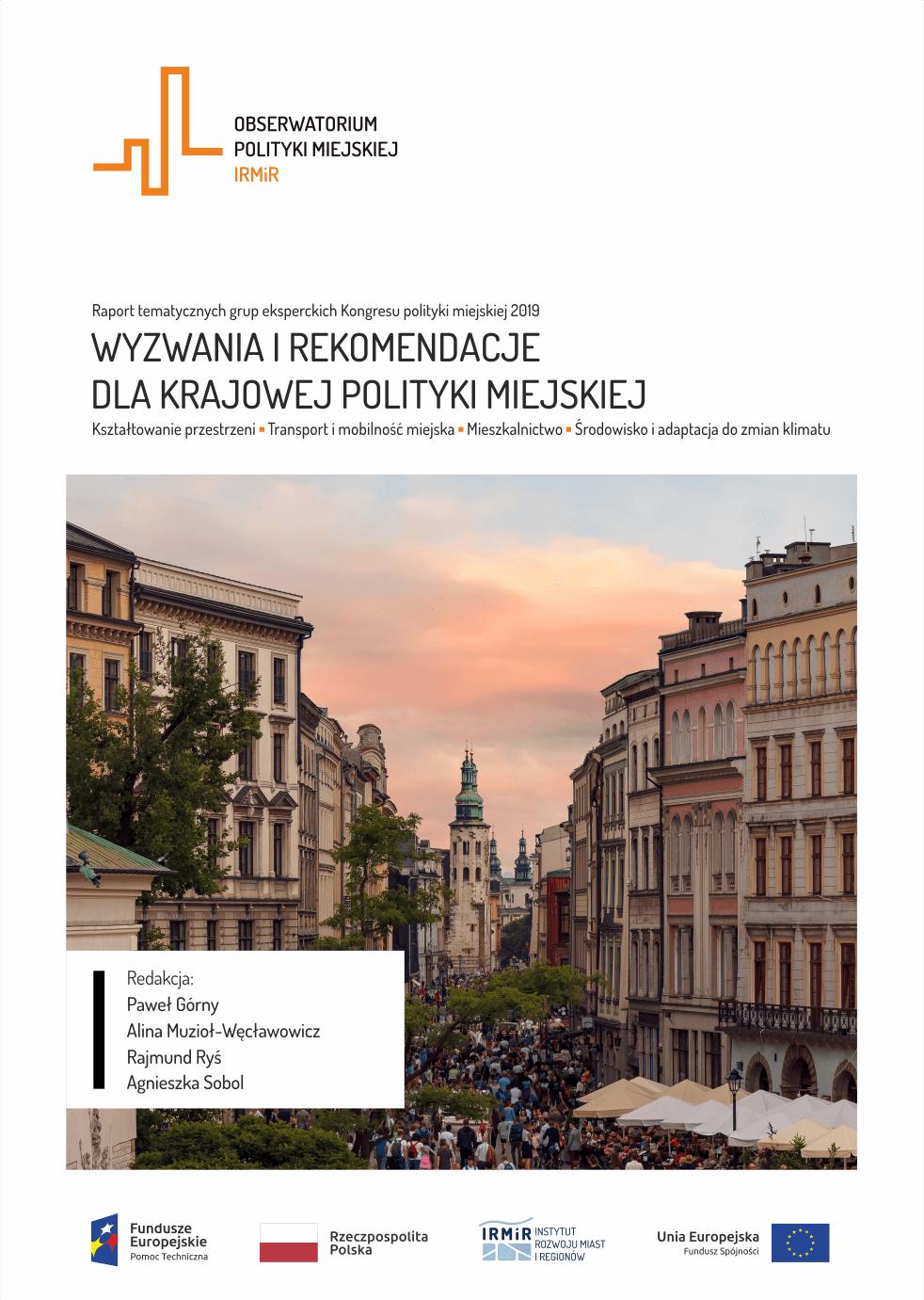 wyzwania i rekomendacje- krajowa polityka miejska - raport